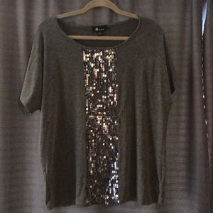 AB studio sequin tee